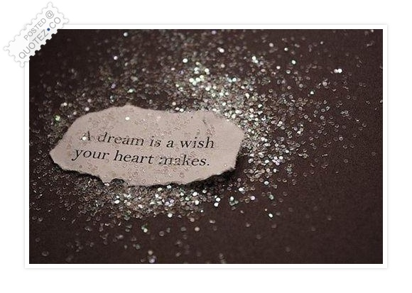 A Dream Is A Wish Your Heart Makes Quote