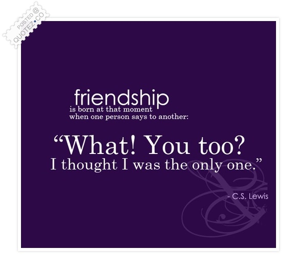 A Friendship Begining Quote