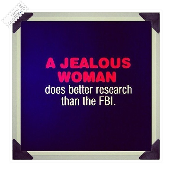 A Jealous Woman Quote
