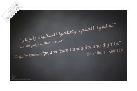 Acquire Knowledge Quote