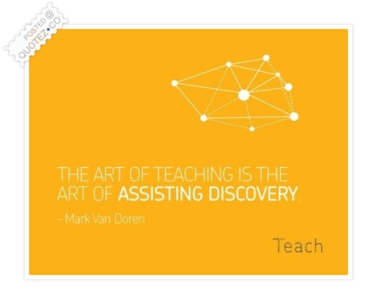 Art Of Teaching Quote