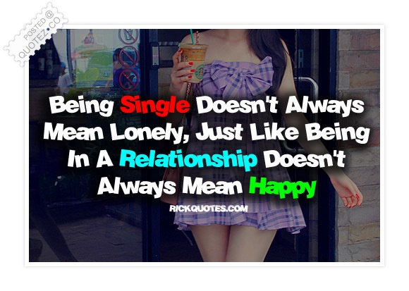 Being Single Quote