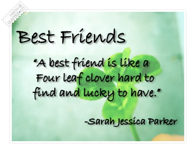 Best Friend Quote · U201c