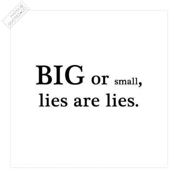 Big Or Small Quote