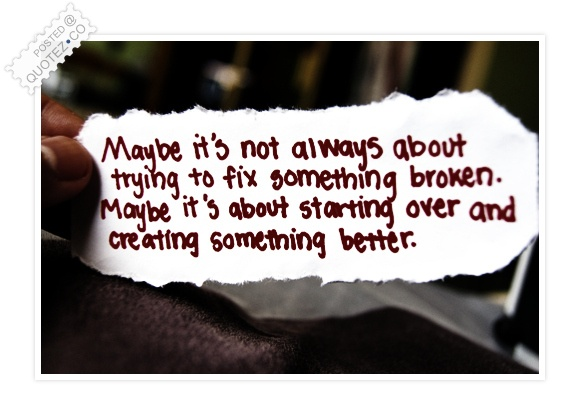 Create Something Better Quote