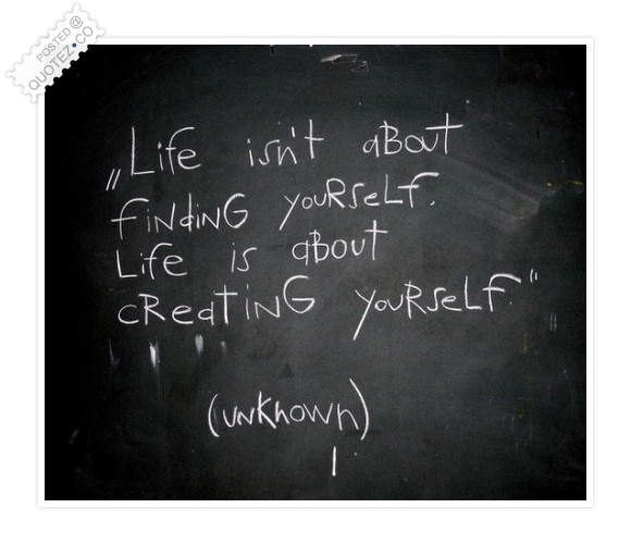 Create Yourself Quote