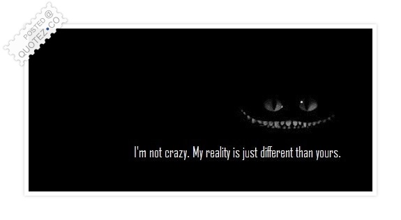 Different Reality Quote