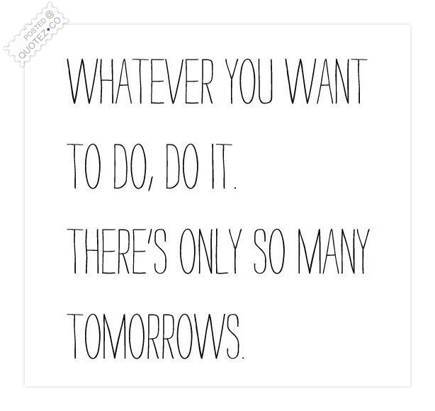 Do It Whatever You Want To Do Quote