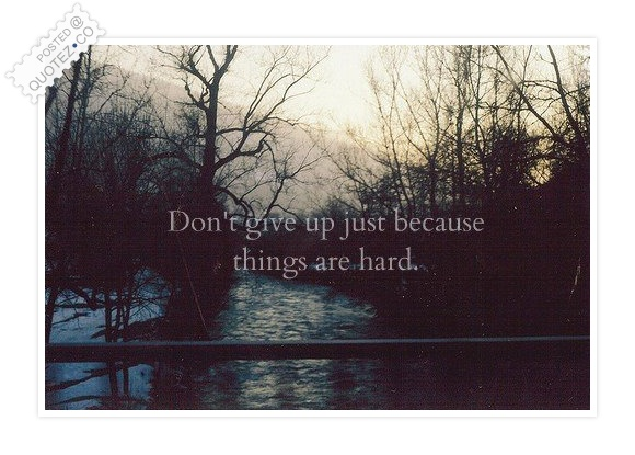Don't Give Up Quote