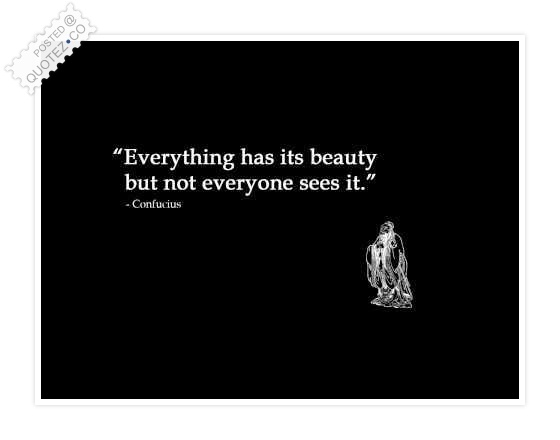 Everything Has Its Beauty Famous Quote Quotez Co