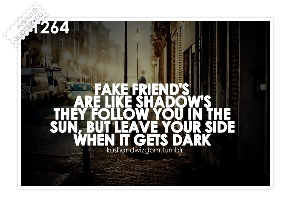 Fake Friends Quote