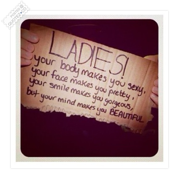 For Ladies Quote