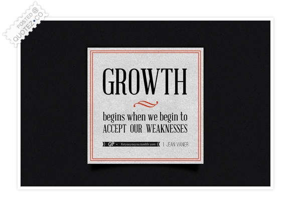 Growth Begins When Quote
