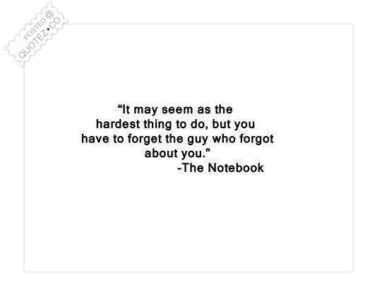 Hardest Thing Quote