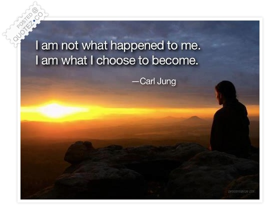 I Am What I Choose To Become Quote