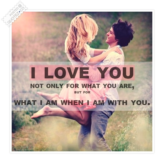 I Love You Quote