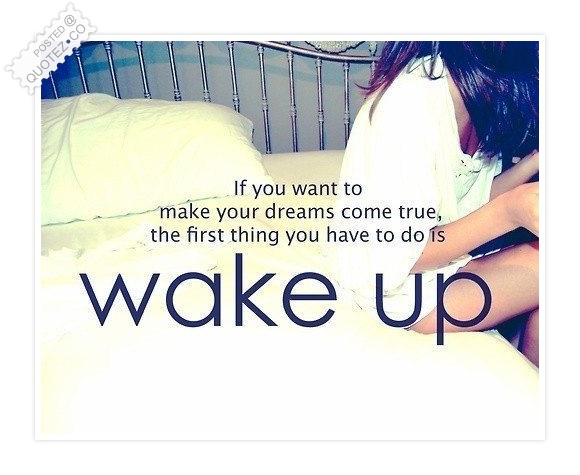 If You Want To Make Your Dreams Come True Quote