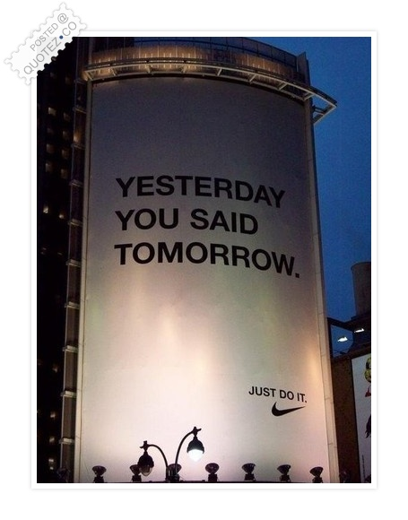 Just Do It Quote