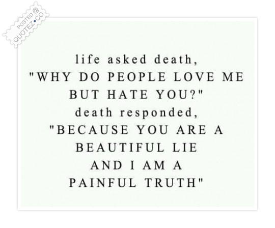 Life And Death Quote