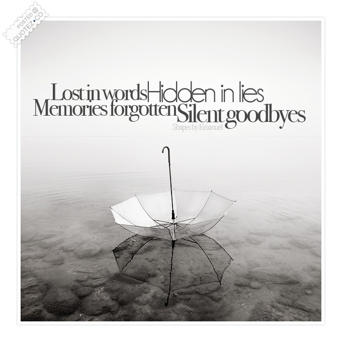 Lost In Words Sad Quote « QUOTEZ CO