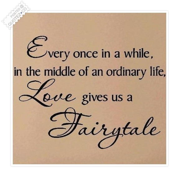 Love Fairytale Quote
