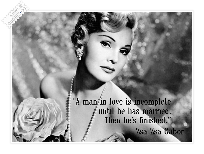 Zsa Zsa Gabor Quotes Fair Zsa Zsa Gabor Quotes & Sayings « Quotez○Co