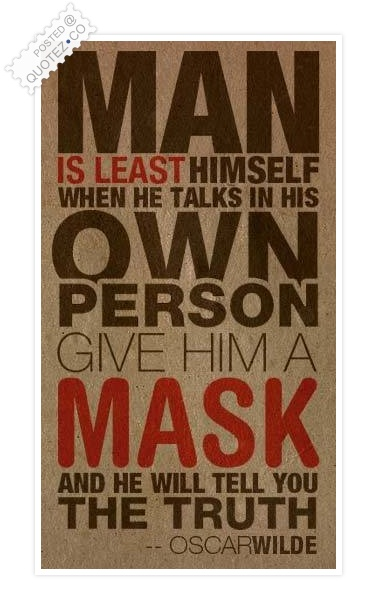 Man Is Least Himself Quote