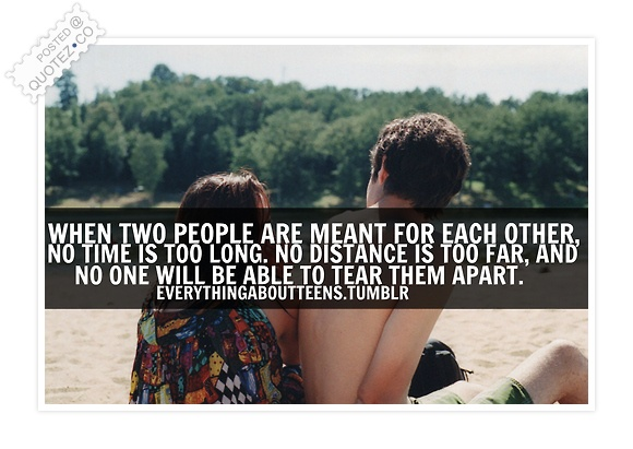 Meant For Each Other Quote