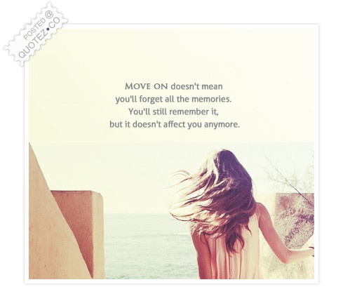 Moving On Quote
