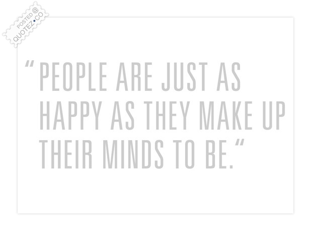 People Are Just Happy Quote