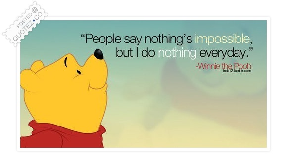 people say nothing is impossible funny quote  u00ab quotez co