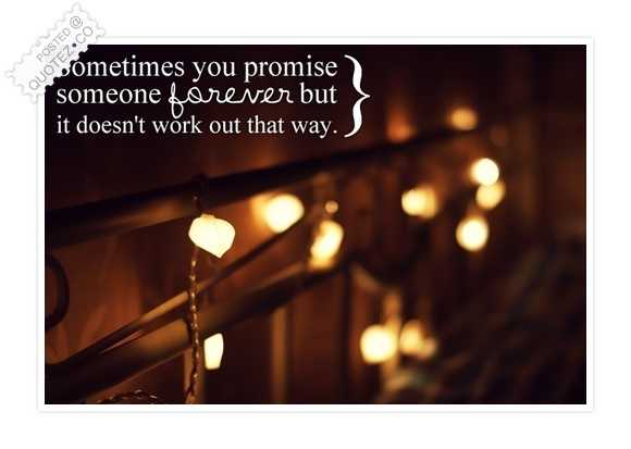 Promise Forever Quote