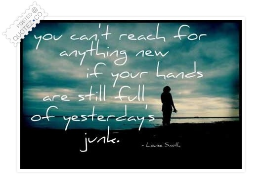 Reach For Anything New Quote