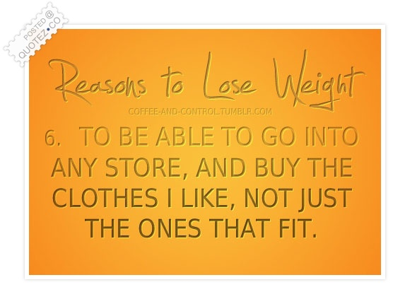 Reasons To Lose Weight Quote