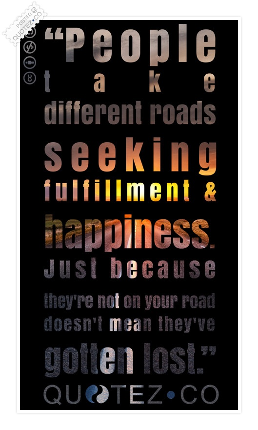 Seeking Happiness Quote