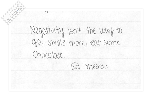 Smile More Eat Some Chocolate Quote