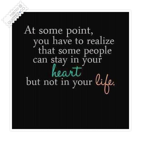 Some People Can Stay In Your Heart Quote