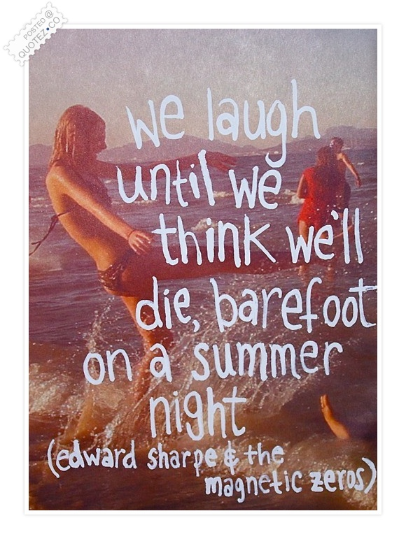 Summer Night Quote