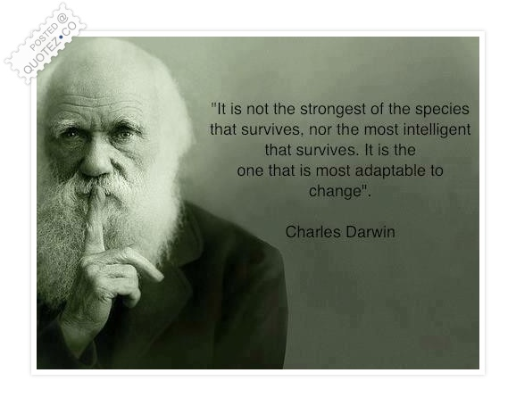 The Species That Survives Quote