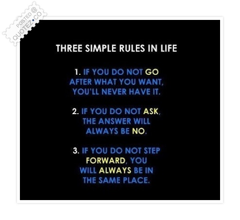 Three Simple Rules Quote