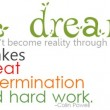 A Dream Doesn't Become Reality Through Magic Quote