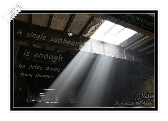 Sunbeam Quote