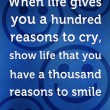 A Thousand Reasons To Smile Quote