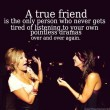 A True Friend Quote