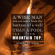 A Wise Man Can See More Than A Fool Quote