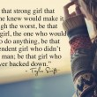 Be A Strong Girl Quote