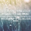 Be An Example To All Believers Quote