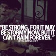 Be Strong Quote