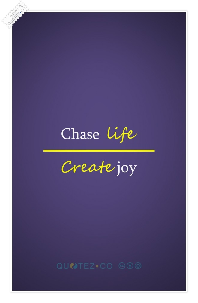 Create Joy Quote