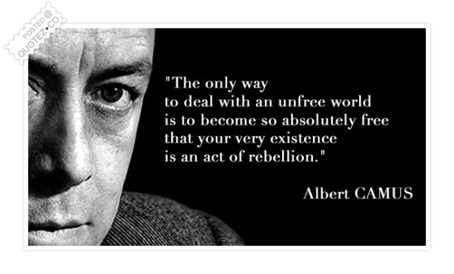 Deal With An Unfree World Quote